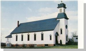 Lincoln, Maine/ME Postcard, Catholic Church, Near Mint!