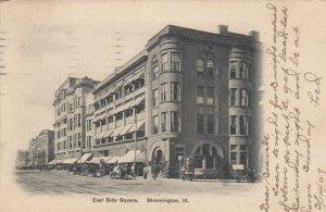 BLOOMINGTON, Illinois, PU-1907; East Side Square