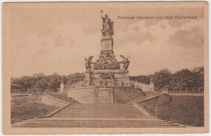 Vintage Germany The National Monument Rüdesheim am Rhein Hessen Postcard