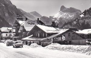 Switzerland Berne Kandersteg Kleiner Rinderhorn Stock Gelihorn Real Photo