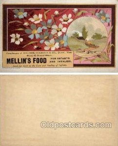 Mellin's Food  --  approx size inches =  3 x 4.75 Unused