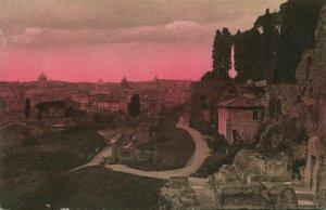 italy, ROMA ROME, Palatino Belvedere (1910s) Postcard