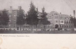 Minnesota Rochester St Mary's Hospital 1908