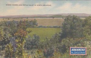Arkansas Scenic Ozarks and Fertile Valley