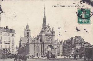 Eglise St-Laurent, Paris, France, PU-1910