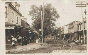 RP: SCHUYLKILL HAVEN , Pennsylvania, 1908 ; Dock Street
