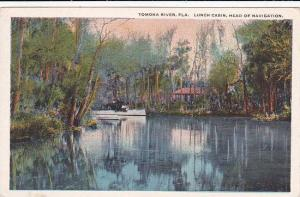 Florida Tomoka River Lunch Cabin Head Of Navigation