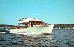 Maine Boothbay Harbor Captain Fish Nellie G IV Sightseeing Boat