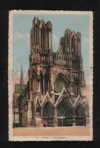 058757 FRANCE Reims. La Cathedrale  Vintage PC