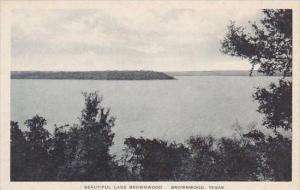 Texas Brownwood Lake Brownwood Albertype