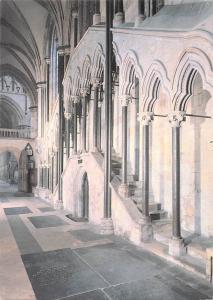 Beverley Minster Chapter House Steps