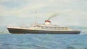 Ship/Steamer, T/N Cristoforo Colombo, Genova, Italy, 1920-30s