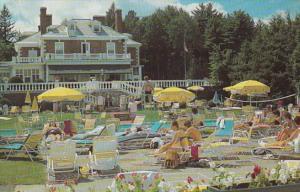 Massachusetts Lenox Eastover Resort Poolside