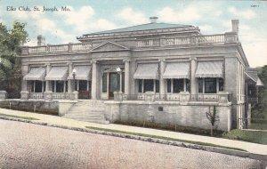 ST JOSEPH , Missouri, 1910 ; Elks Club