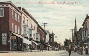 MARTINSBURG , West Virginia, 1900-10s ; North Queen street