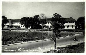 indonesia, JAVA YOGYAKARTA DJOKJA, Asrama Mahasiswa Realino 1950s RPPC Postcard