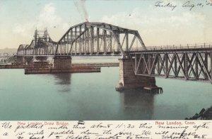 NEW LONDON, Connecticut, PU-1906 ; Draw bridge