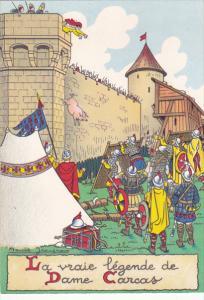 France Carcassonne La vraie legende de Dame Carcas
