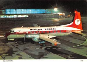 Dan Air - Plane