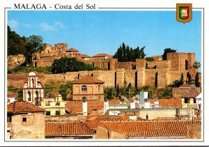 Spain Malaga Costa del Sol The Alcazaba