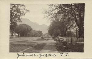 south africa, GEORGETOWN C.C., York Street (1910s) RPPC