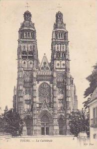 France Tours La Cathedrale 1905