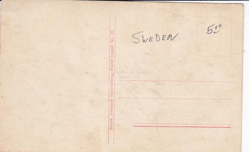 RP; MALMO, Sweden, 30-50s; Skeppsbron