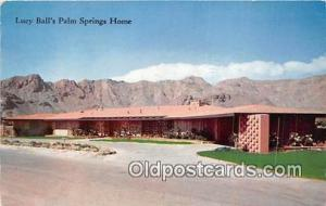 Palm Springs, CA, USA Lucy Ball's Palm Springs Home