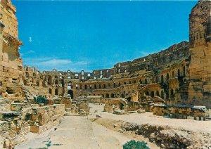 Tunisia el jem le colisee architecture Postcard