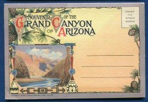 Arizona Grand Canyon EL Tovar hotel Hopi House Point Postcard Folder