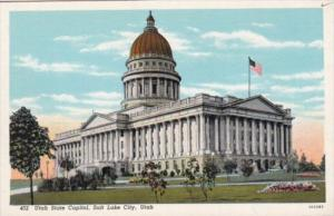 State Capitol Building Salt Lake City Utah Curteich