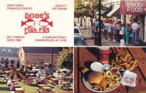 Doug's Fish Fry Seafood Restaurant - Skaneateles NY, New York - Roadside