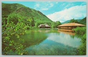 Aspen Colorado~Aspen Music School Campus~Standard Chrome Postcard