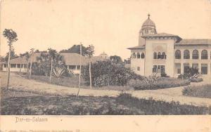 German East Africa Dar Es Salaam, Daressalaam, Dar-es-Salaam, Postkarte