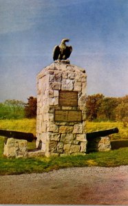 New York Fort Ticonderoga Memorial To The British and Colonial Troops