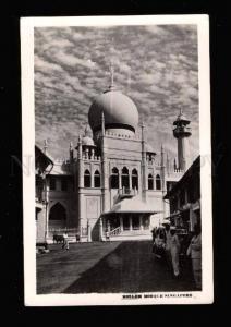 017274 SINGAPORE Moslem mosque Vintage photo PC