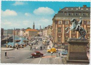 KOBENHAVN, COPENHAGEN, The Fish market at Gammel Strand, Denmark, Postcard