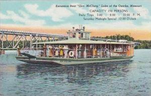 Missouri Jefferson City Excursion Boat Gov Mcclurg Lake Of The Ozarks