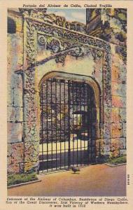 Portada del Alcazar de Colon, Ciudad Trujillo, Mexico, 30-40s