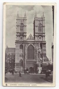 RP GB Westminster Abbey London Tucks Real Photo 1906 Glosso