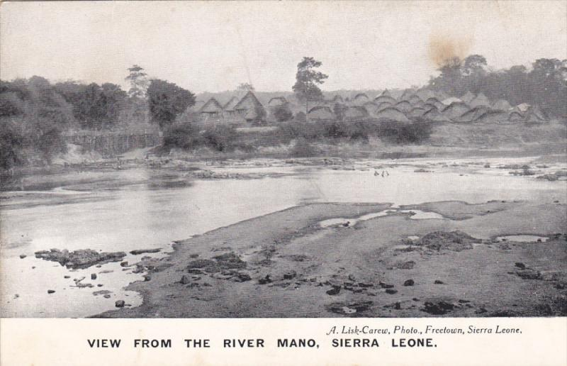 SIERRA LEONE , 00-10s : View from river Mano