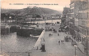 Le Quai Coligny et la Montagne du Roule Cherbourg France Unused
