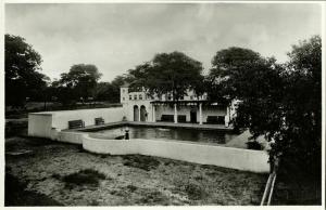 rhodesia, VICTORIA FALLS, Hotel, Swimming Pool in the Grounds (1940s) RPPC