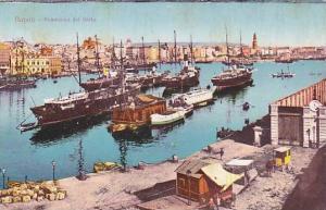 Panorama Del Porto, Boats, Napoli (Campania), Italy, 1900-1910s
