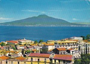 Italy Sorrento Panorama e Vesuvio