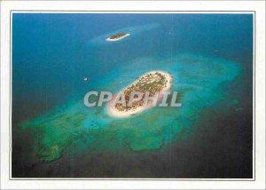 Modern Postcard Fiji Island coral archipelago of