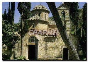 Postcard Modern Athens Kaissariani the Monastery church