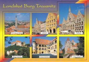 Germany Schwandorf Landshut Burg Trausnitz Multi View