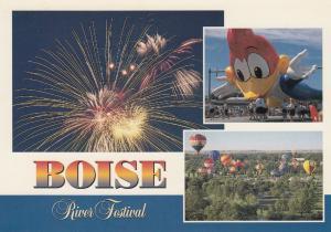 BOISE , Idaho, 50-70s ; River Festival, Woody Woodpecker Balloon