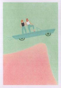 Thelma & Louise Film Movie Feminist Cinema Power To Women Postcard